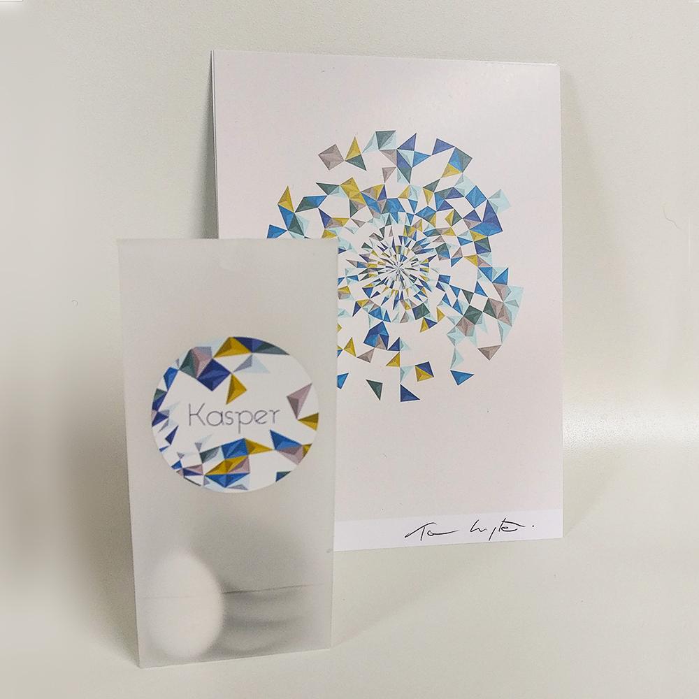 Birth card serie